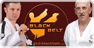 baner reklamowy tkd black belt